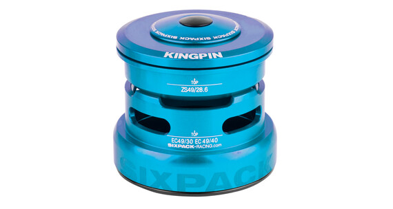 Sixpack Kingpin-R Steuersatz ZS49/28.6 I EC49/30 light blue